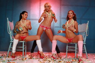 individual model, panties, topless, white