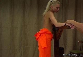 german female instructor tied