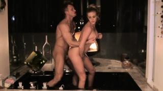 horny blondie fools bathtub