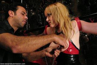 blonde, bondage, hardcore, rough sex