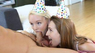 birthday, hd porn, party, threesome