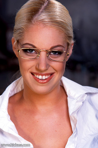 extra hot blonde glasses