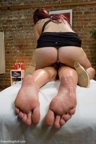 anal, massage, redhead, rough sex