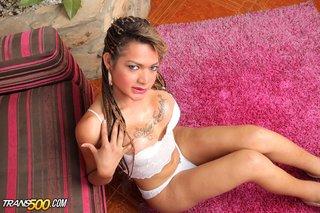 lingerie, pretty, shemale, white