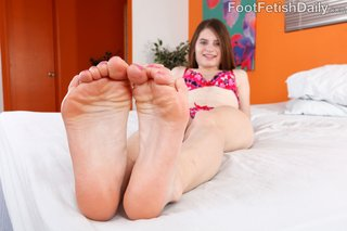 brunette, feet, foot