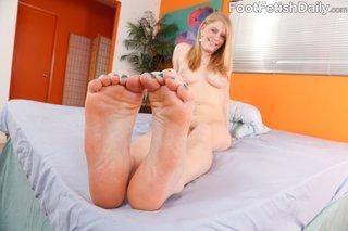 blonde, foot, lingerie