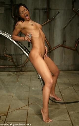black-haired wet cougar loves