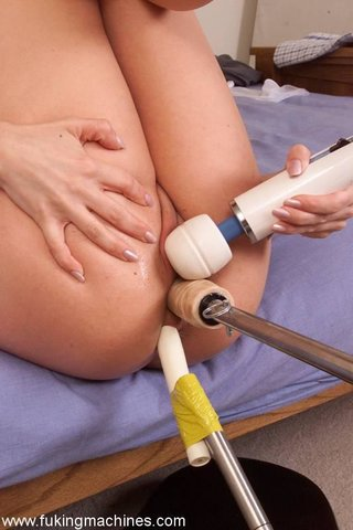 drilled, fucking machines, slut, stockings