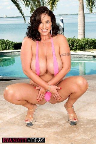 big tits, pool, tits
