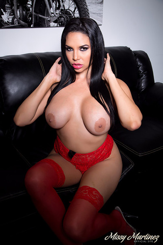 alluring chick red lingerie
