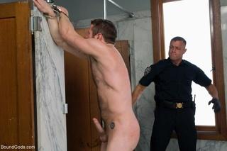 pervert cop torturing humiliating
