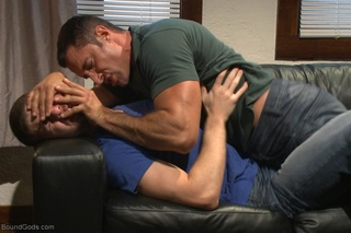 gagged dude spanked tortured