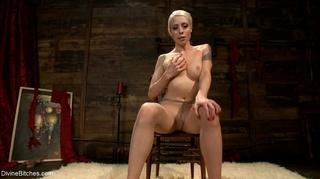 blonde nude pantyhose sniff