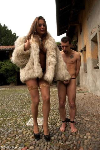 fuckable sheman sheds fur