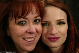 two horny redhead bitches