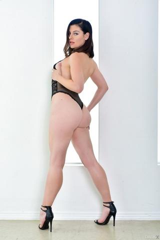 ass, high heels, interracial, lingerie