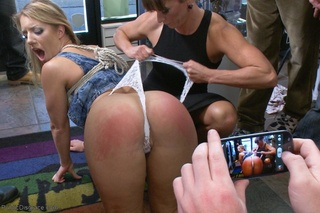 woman action blonde shared