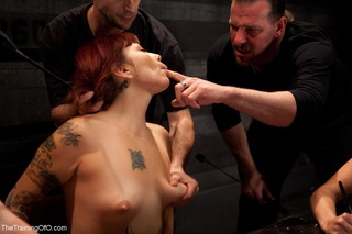 group slave training wooden