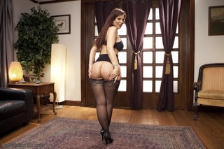 submissive milf black stockings
