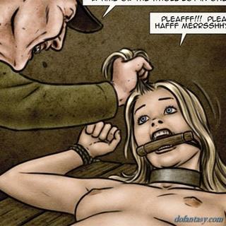 cruel man enjoys squeeze