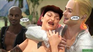 naughty housewife double penetrated