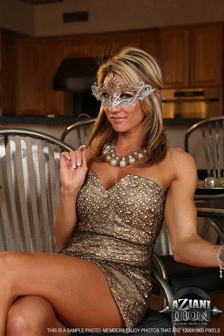 american hot blindfold