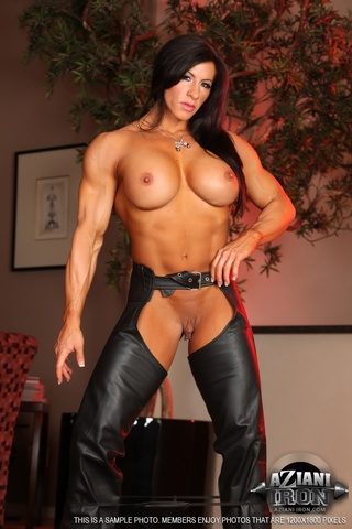 american muscular milf big