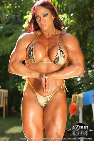 Opinion bodybuilder girls big tits rather