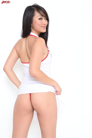 asian nurse sucks big