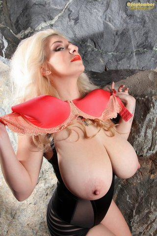 big tits, blonde, individual model, long hair