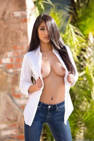 sultry hottie lounges sexy