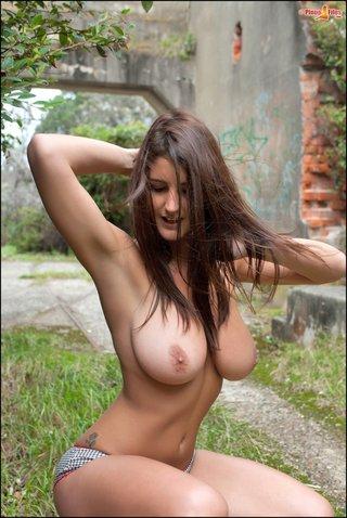big tits, brunette, panties, tight