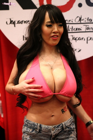 japanese woman huge knockers