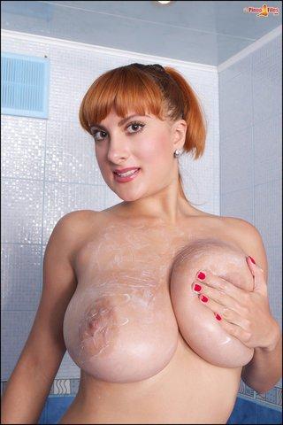 big tits, boobs, redhead