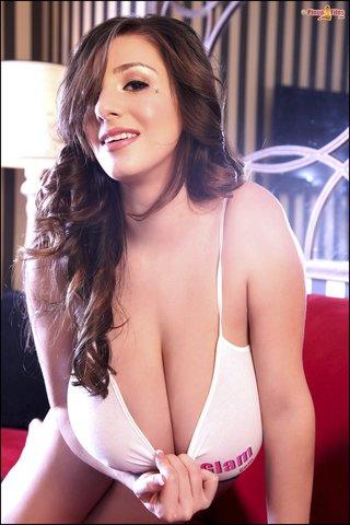 big tits, lady