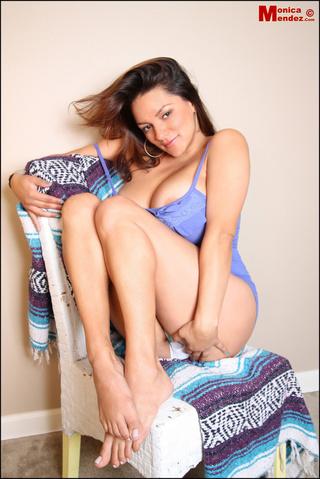 busty latina darling takes