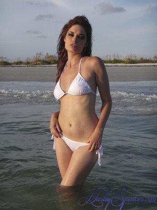 beach, bunny, individual model, white