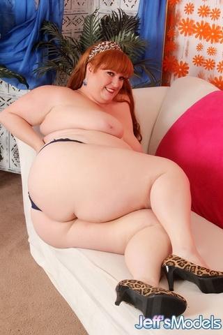 hot big redhead blue