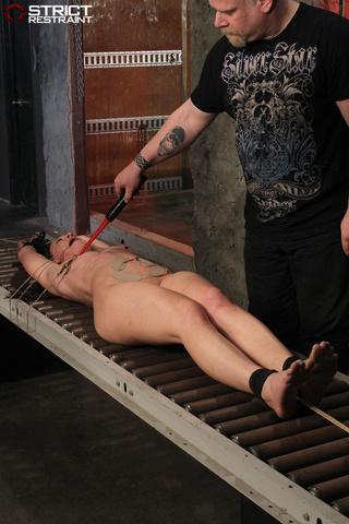 alluring, bondage, feet, nipples