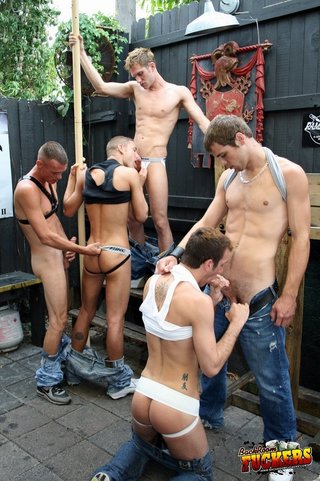 backroom, gay, jeans, topless