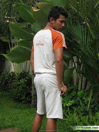 asian, gay, shorts, white