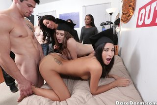 college, dirty, naked girls, party