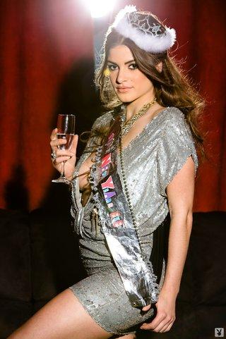 beauty queen silver champaigne