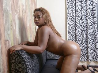 ebony girl with beautiful