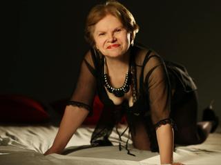 white granny beautiful tits