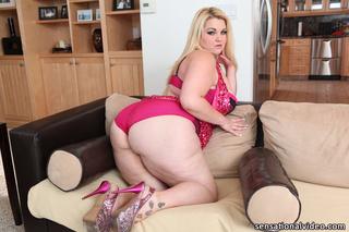 fat blonde bombshell pink