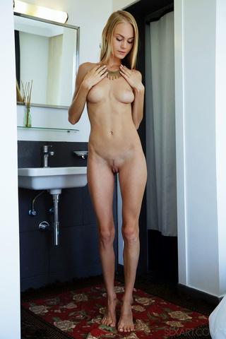 rich blonde slim body