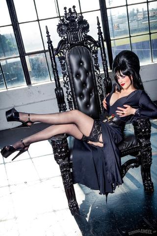 alluring vixen black dress