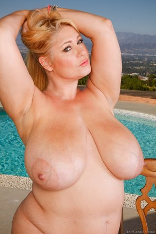 blonde milf giant titties