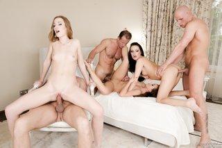 great group sex enjoyed